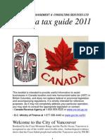 taxes in Canada-Final 2011