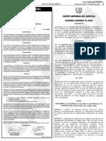 Acdo. CSJ 35-2020 Reglamento de Audiencias por Medios Electrónicos de Comunicación Audiovisual en Tiempo Real (DCA)