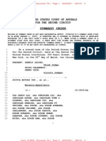 OLD CARCO, LLC (2ND CIRCUIT) - 76.1 - SUMMARY ORDER AND JUDGMENT - TransportRoom.76.1 Summary Order