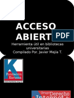 Acceso Abierto JMT