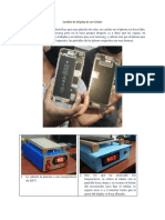 Cambio de display de un celular