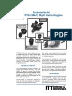ANPVS-7B Night Vision Goggles & Accessories Manual