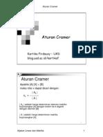 aturan-cramer
