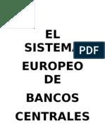 Trabajo Banco Central Europeo