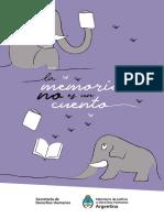 Libro La Memoria No Es Un Cuento Escrito Por Chicosychicasdeprimaria