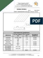 Scheda Tecnica - Lastre in fibrocemento