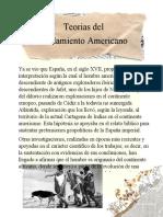 TEORIAS DEL HOMBRE AMERICANO