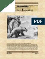 Bestiary- Cave Bear