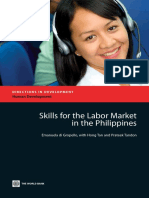 Skills for the Labor Market in the Phillippines