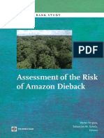 Assessment of the Risk of Amazon Dieback