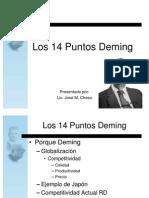 Los 14 Puntos Deming-Esp