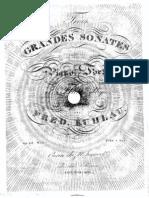 Op. 83   Trois Grandes Sonates pour le Piano Forte et Flute obligee. (No. 1-2)