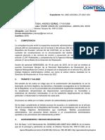 sancion exp. 3-2021 CONSTRUCCIÓN