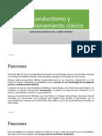 Conductismo y condicionamiento clásico