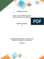 Gobernanza solidaria - UNIDAD 3