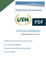 Leyes Del Liderazgo - Jafet Ramos