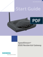 Speadstream 6250 Quick Start Guide