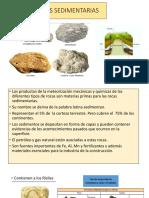CLASE IV ROCAS SEDIMENTARIAS Y METAMORFICAS
