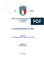 Attacking System of Italia football license Pro