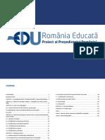 Raport Romania Educata - 14 Iulie 2021