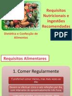 5 - Requisitos Nutricionais