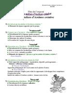 Ateliers Ecrit Creative en Cl de Fle