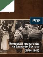 Шерстюков С.А. Немецкая пропаганда на Ближнем Востоке (1914–1945)