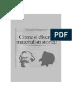 Edoardo Sanguineti - Come si diventa materialisti storici_ (2006, Manni)