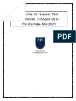 MR Revision Fin d'Annee Mai 2021