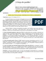 Licão de Célula - A FORÇA DO PERDÃO - 277