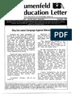 The Blumenfeld Education Lettter September 1988