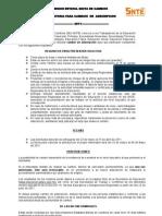 Convocatoria Para Cambios de Adscripcion 2011 Federal