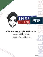 eBook - Os 30 Phrasal Verbs Mais Utilizados (Inglês Sem Neura)
