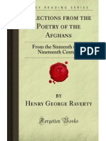 Selections from the Poetry of the Afghans - 9781605066929