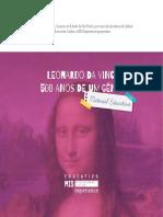 Leonardo Da Vinci 500 Anos de Um Gênio - Mat. Educativo