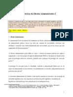 Direito Administrativo Ficha