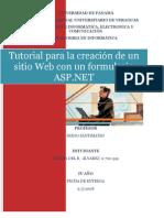 Tutorial para crear formulario ASP(Fátima Álvarez)