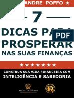 7 DICAS PARA PROSPERAR NAS SUAS FINANCAS_