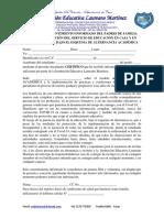 FORMATO CONSENTIMIENTO INFORMADO DEL PADRES DE FAMILIA PARA LA PRESTACIÓN DEL SERVICIO DE EDUCACIÓN EN CASA Y EN PRESENCIALIDAD