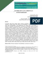 ALBA; BARRETO; ALBA (2015). Um olhar sobre a eduação ambiental