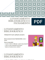 levantamento bibliográfico e fichamento