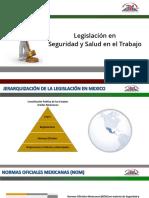 PRESENTACIÓN DE LEGISLACIÓN EN SEGURIDAD Y SALUD (NOM).