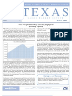Texas Labor Market Review March 2011