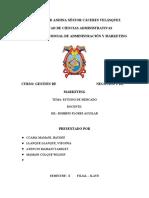 Estudio de Mercado Filial Ilave Terminado