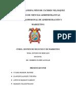 Estudio de Mercado Filial - Ilave