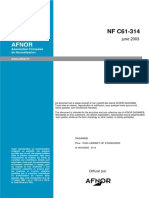 NF C61-314 (2003) (substituída)