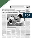 Médicos relacionan una proteína con casos de diabetes y obesidad