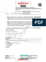 N.I N° 202100644596 - SOBRE EJECUCION DE OPERATIVO POLICIAL - CIA MAZAMARI