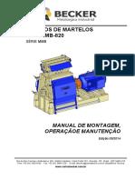 Manual Mmb-820 - Moinho de Martelos