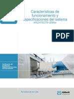 Architect - Especificaciones i2000sr Version 2